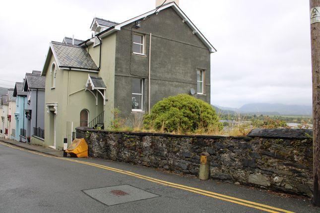 Thumbnail Flat for sale in Roche Terrace, Porthmadog, Gwynedd