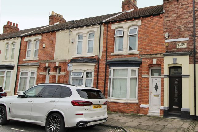 Thumbnail Terraced house to rent in Abingdon Road, Middlesbrough, Cleveland