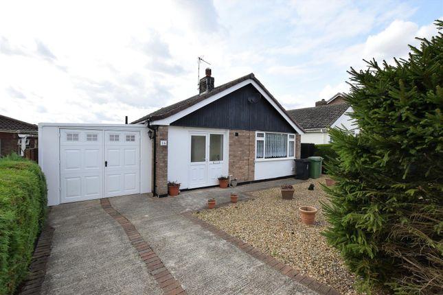 Thumbnail Detached bungalow for sale in Wenton Close, Cottesmore, Oakham