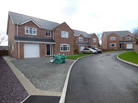 Thumbnail Detached house for sale in Stad Tyn Llain, Ffordd Dyfnia, Llanfairpwll, Anglesey