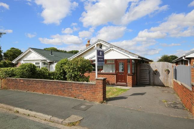 Thumbnail Detached bungalow for sale in Braemore Close, Winstanley, Wigan