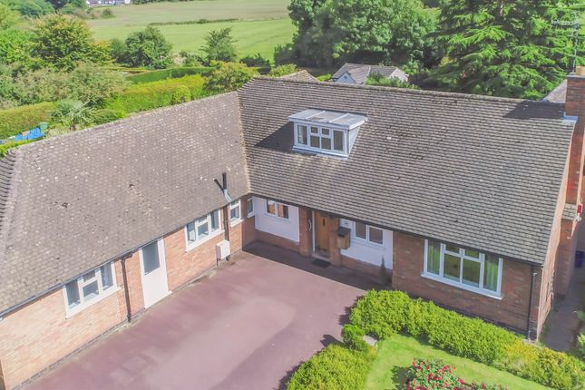 Thumbnail Detached bungalow for sale in Ringers Spinney, Oadby, Leicester