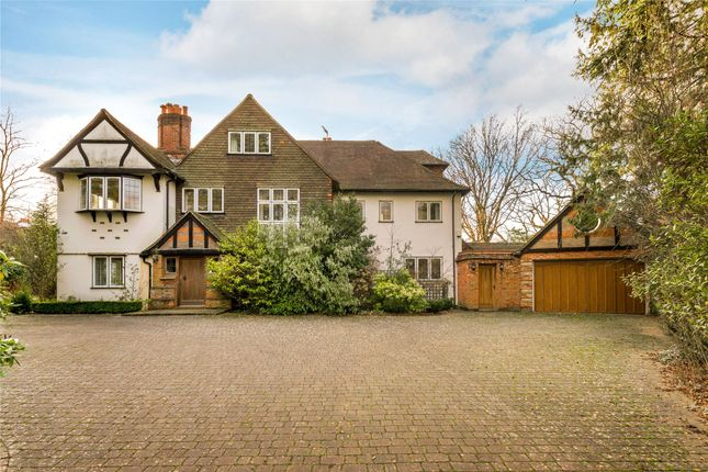 Thumbnail Detached house for sale in The Hockering, Woking, Surrey