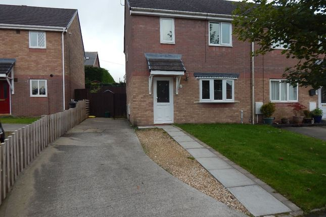 Thumbnail End terrace house to rent in Hafod View Close, Brynmawr, Ebbw Vale