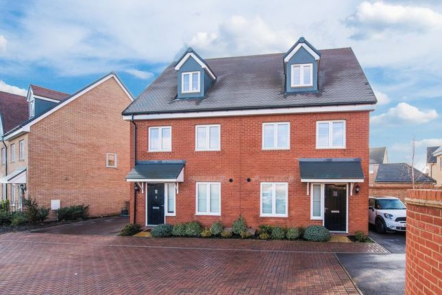 Thumbnail Semi-detached house for sale in Winston Mews, Aylesbury