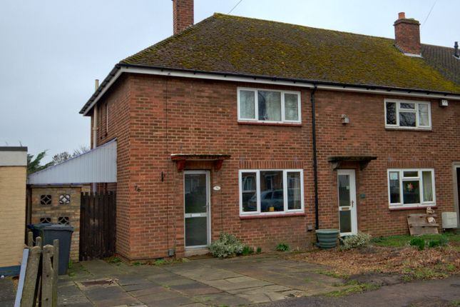 Thumbnail Semi-detached house to rent in Foster Road, Trumpington, Cambridge