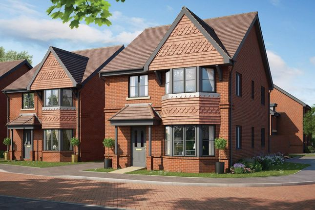 Thumbnail Detached house for sale in Holmes Road, Binfield
