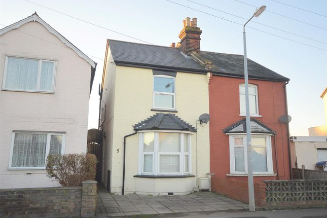 Thumbnail Semi-detached house for sale in Thorpe Road, Clacton-On-Sea