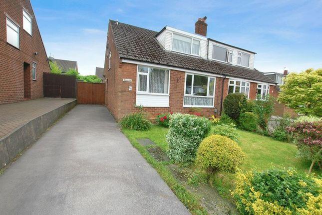 Thumbnail Semi-detached bungalow for sale in Lincoln Avenue, Little Lever, Bolton
