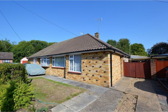Thumbnail Semi-detached bungalow for sale in Brightside Close, Billericay
