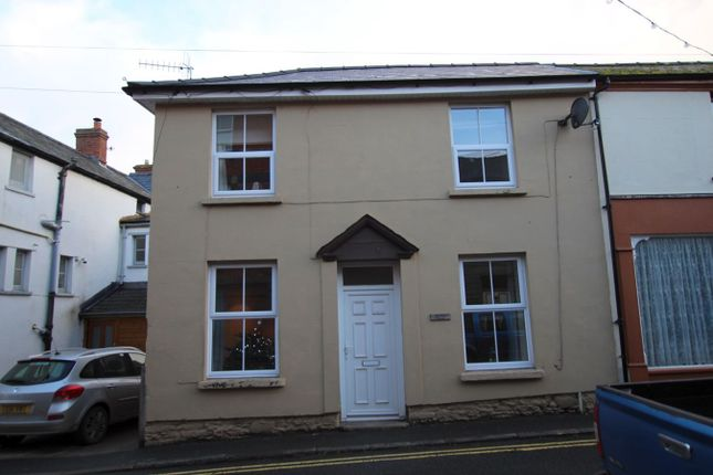 Thumbnail End terrace house to rent in Bell Street, Talgarth, Brecon