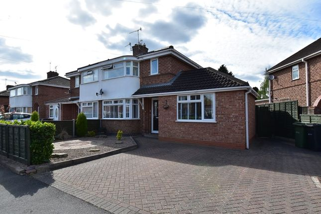 Thumbnail Semi-detached house for sale in Worboys Road, Worcester