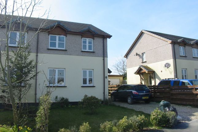 Thumbnail Semi-detached house to rent in Paradise Park, Whitstone, Holsworthy