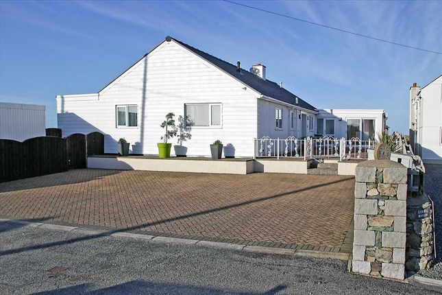 Thumbnail Detached bungalow for sale in Sound Of The Waves, Beach Road, Cemaes Bay