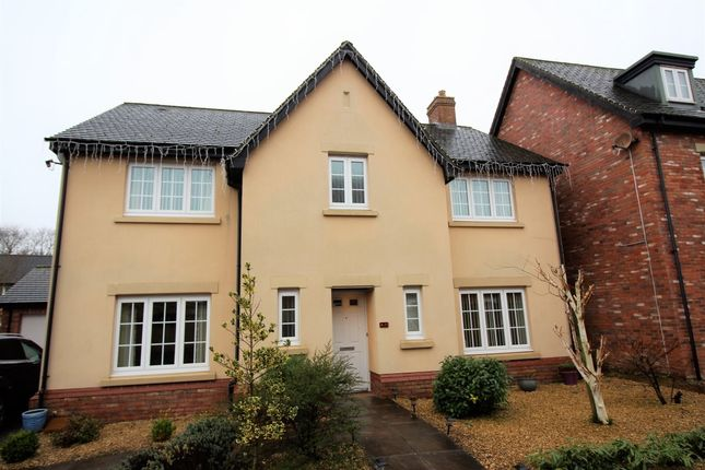 Thumbnail Detached house to rent in John Fielding Gardens, Llantarnam, Cwmbran