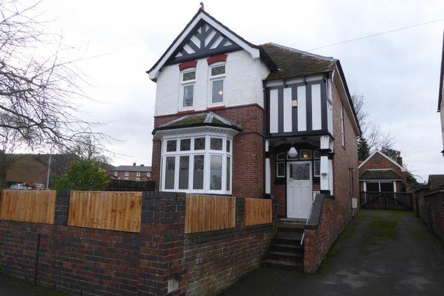 Thumbnail Detached house for sale in Wrekin Road, Wellington, Telford