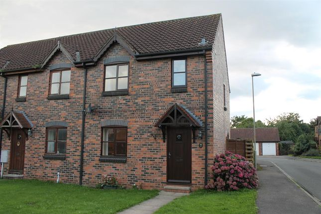 Thumbnail End terrace house for sale in Grange Garth, Linton On Ouse, York