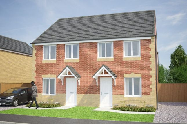Thumbnail Semi-detached house for sale in Selby Road, Askern, Doncaster