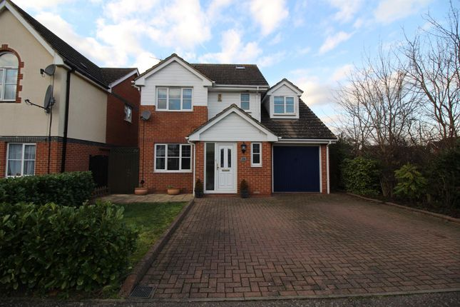 Thumbnail Detached house for sale in Burley Hill, Newhall, Harlow