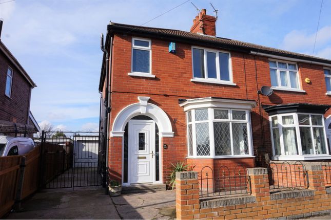 Thumbnail Semi-detached house for sale in Reynolds Street, Cleethorpes