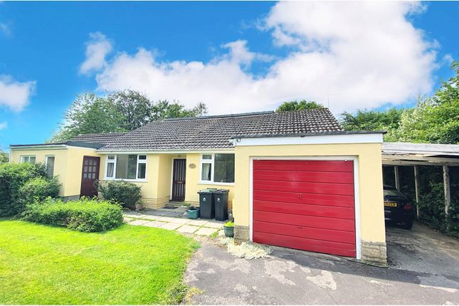 Thumbnail Detached bungalow for sale in Melway Gardens, Blandford Forum