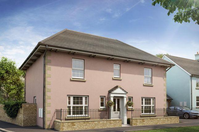 """Thumbnail Detached house for sale in """"Oakhampton"""" at Bevans Lane, Pontrhydyrun, Cwmbran"""
