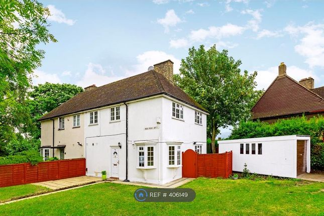 Thumbnail Semi-detached house to rent in Red Post Hill, London