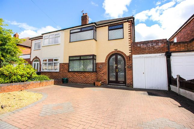 Thumbnail Semi-detached house for sale in Fairview Road, Wednesfield, Wolverhampton