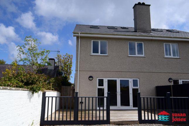 4 bed semi-detached house for sale in Maes Twnti, Lon Isaf, Morfa Nefyn, Pwllheli LL53