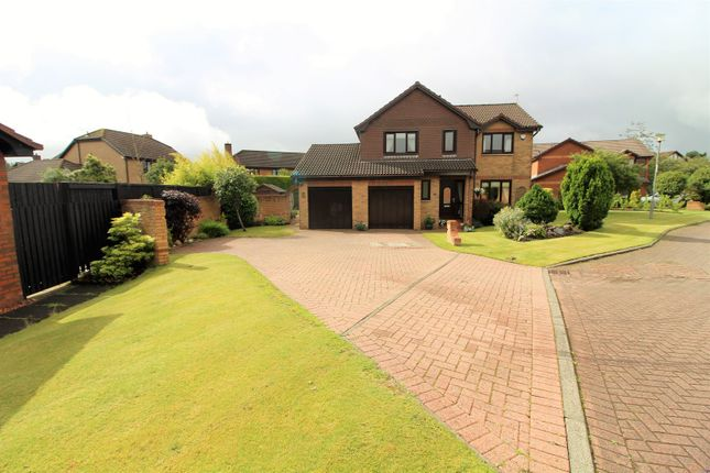 Thumbnail Detached house for sale in Barassie Crescent, Glasgow