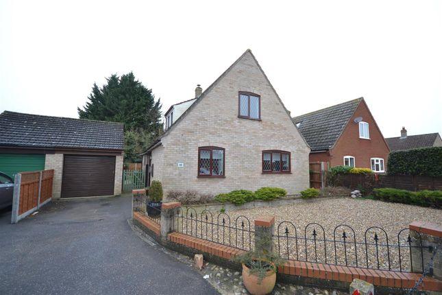 Thumbnail Detached bungalow for sale in Edenside Drive, Attleborough