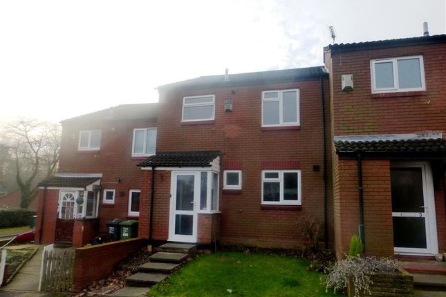Thumbnail Terraced house to rent in Mickleton Close, Redditch