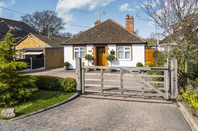 Thumbnail Bungalow for sale in Chelmsford, Essex, Uk