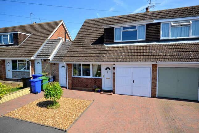 Thumbnail Semi-detached house for sale in Wallwin Close, Roade, Northampton