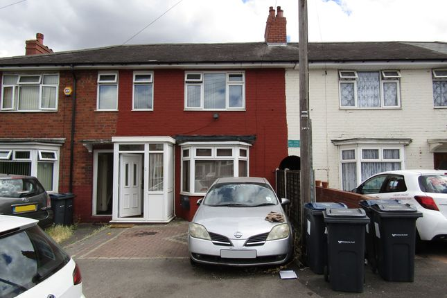 Thumbnail Terraced house to rent in Shaw Hill Grove, Alum Rock, Birmingham