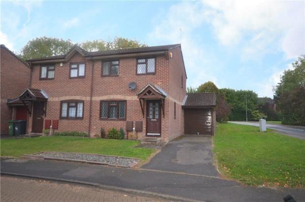 Thumbnail Semi-detached house for sale in Stravinsky Road, Basingstoke, Hampshire