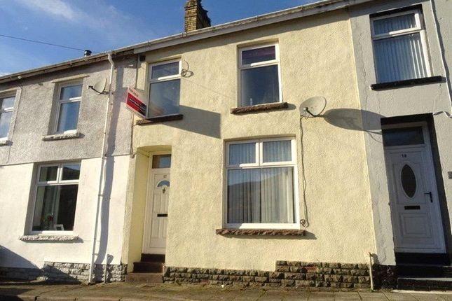 Thumbnail Terraced house to rent in Morris Street, Morris Street, Cwmaman, Rct