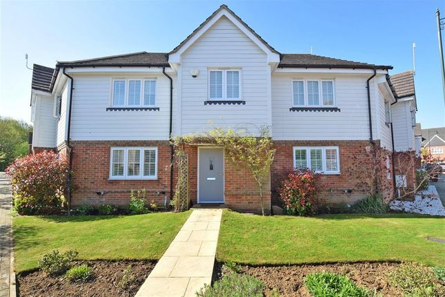 Thumbnail Terraced house for sale in Clearheart Lane, Kings Hill, West Malling, Kent