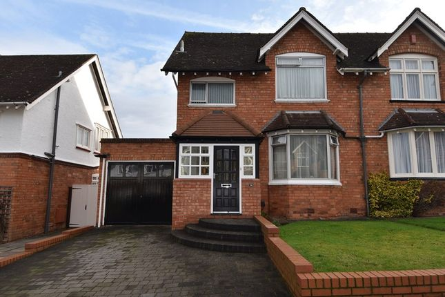 Thumbnail Semi-detached house for sale in Beech Road, Bournville, Birmingham