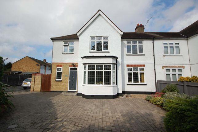 Thumbnail Semi-detached house for sale in Barrow Lane, Cheshunt, Waltham Cross