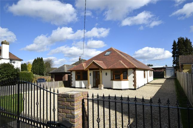 Thumbnail Detached bungalow for sale in London Road, West Kingsdown, Kent
