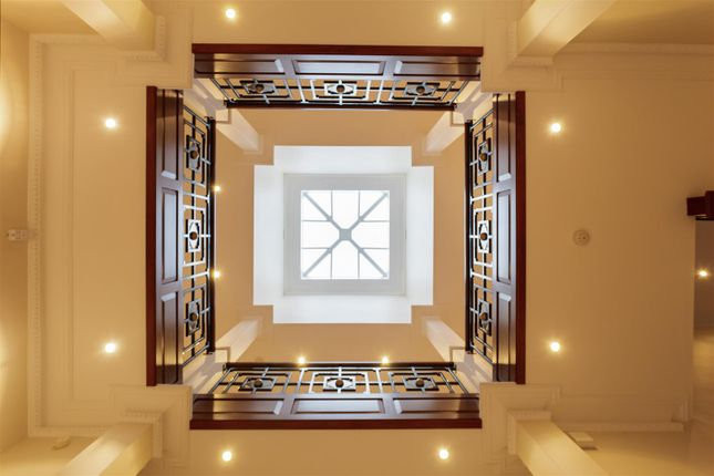 View From Ground Floor To The Landing Above