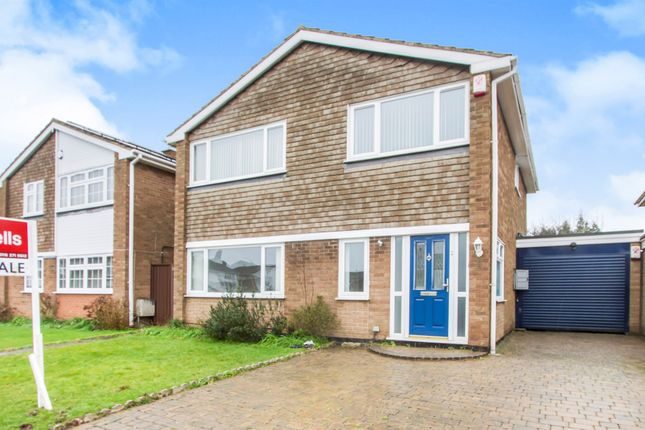 Thumbnail Detached house for sale in Eden Close, Oadby, Leicester