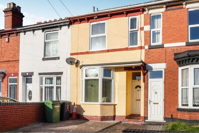 Terraced house in  Bolton Road  Wolverhampton W West Midlands