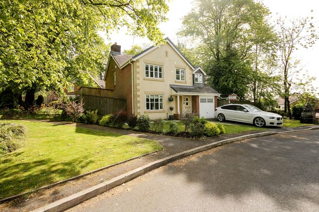 Thumbnail Detached house for sale in Clarendon Gardens, Bromley Cross, Bolton