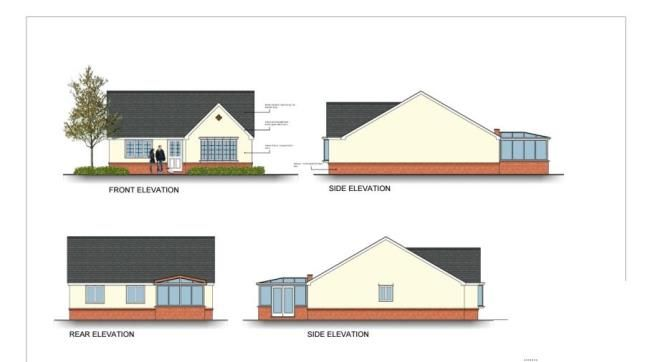 Thumbnail Bungalow for sale in Bolahaul Road, Cwmffrwd, Carmarthen, Sir Gaerfyrddin