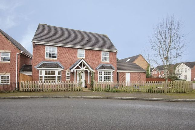 Thumbnail Detached house for sale in The Nurseries, Langstone, Newport