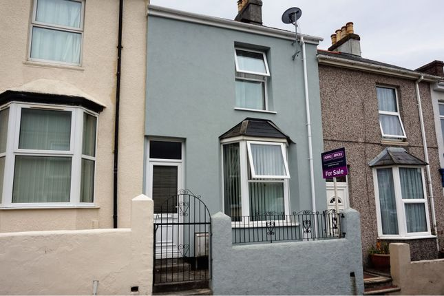 Thumbnail Terraced house for sale in Hanover Road, Plymouth
