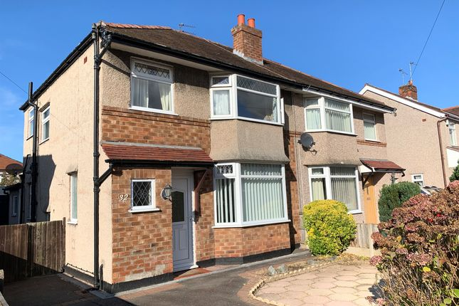 Thumbnail Semi-detached house for sale in Kirkway, Greasby, Wirral