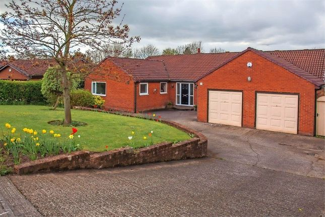 Thumbnail Detached bungalow for sale in Askerton Drive, Peterlee, Durham